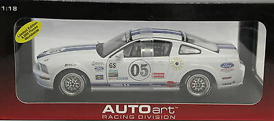 1/18 Auto Art #80510  Ford Racing Mustang