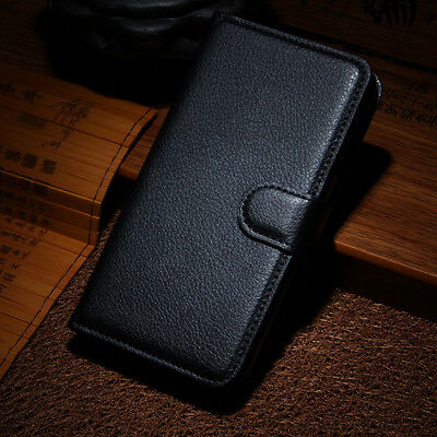 New Quality Handmade Pu Leather Cash Card Slot Wallet Flip Case For Sony Phones