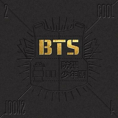BTS - 2 Cool 4 Skool Single Sealed CD+Photo Book + 1Post card