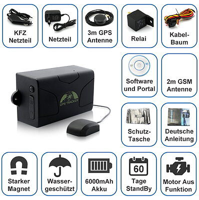gps tracker gps sos tracker kfz auto kinder ortung. Black Bedroom Furniture Sets. Home Design Ideas