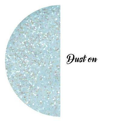 Baby Blue Crystals Glitter Sparkle Cake Decorating Rolkem Non-Toxic