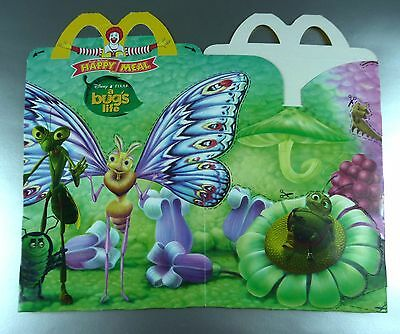 ANCIENNE BOITE HAPPY MEAL McDONALD'S / VINTAGE TOY BOX / BUG'S LIFE 3