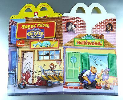 ANCIENNE BOITE HAPPY MEAL McDONALD'S / VINTAGE TOY BOX / OLIVER & Cie 1