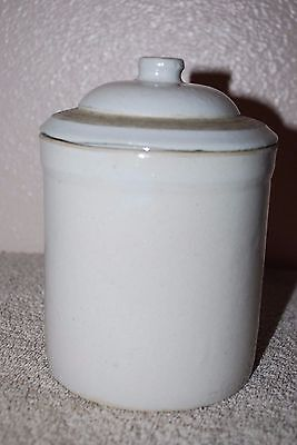 Small Vintage Crock With Lid No Markings