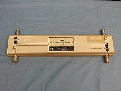 Hp Agilent 11692D 2 to 18Ghz  Dual-Directional Coupler TESTED
