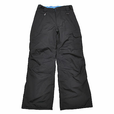 Youth Big Kids Boys Ski/Snow Pants Black SZ 9-10,10-12, 12-14,16 waterproof