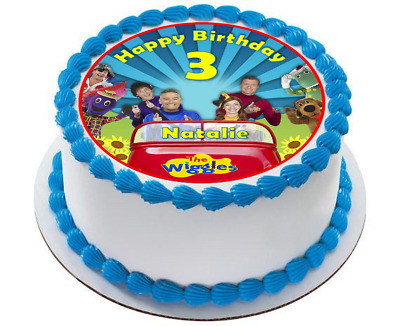 Wiggles Edible Wafer Cake Topper Decoration Birthday Image Emma Dorothy
