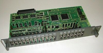 FANUC A16B-2201-0311//05C CIRCUIT BOARD W// DAUGHTER CARDS A20B-2902-0400 USED C13