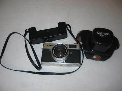 Vintage Canon Canonet QL 17 35MM Film Camera 1.7 45MM Lens