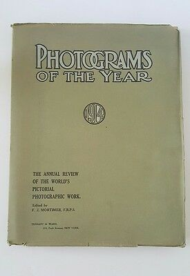 1914 Great Britain's Annual 'Photograms of the Year'