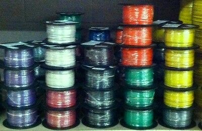 500Ft Tffn/tewn Wire 18 Awg Stranded 600 Volt. Made In Usa.  Numerous Colors!