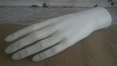Female Mannequin Left Hand Replacement Body Part Store Display