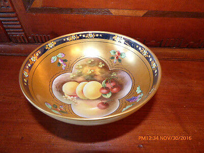 BEAUTIFUL antique Hand Painted PICKARD SIGNED BY NOTED ARTIST YESCHECK, PERFECT