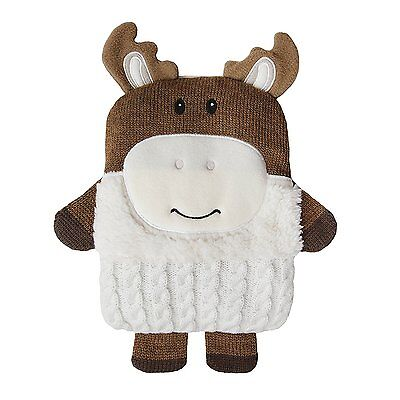 Aroma Home Snuggle Hottie MOOSE Knitted Microwavable Scented Body Warmer