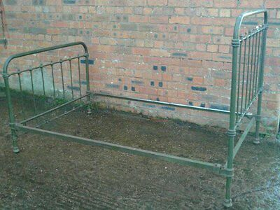 Antique Iron French 3/4 Bed (4 foot) Delivery available
