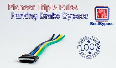 Parking Brake Bypass Compatible with Pioneer AVH-4201NEX by BestBypass 4200NEX