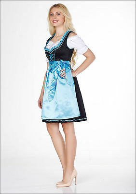 Germany,Bavarian,German,Trachten,Festival,Oktoberfest,Dirndl Dress,3-pc.18.Blue