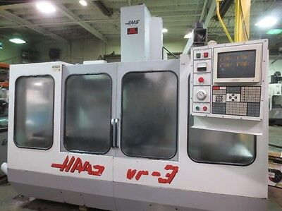 Haas VF-3 CNC Machining Center w/ Rigid Tapping, Auger
