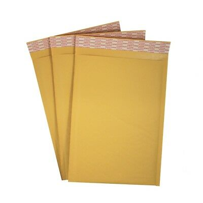 #1 Kraft Bubble Mailer Self Seal Padded Envelope 7 1/4 x 11 - Case of 100