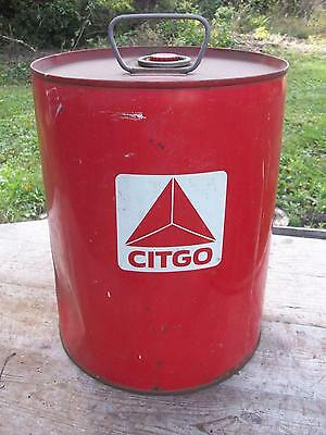 Indiana Farm Find-Vintage Citgo-Cities Services  -- 5 Gallon Can-