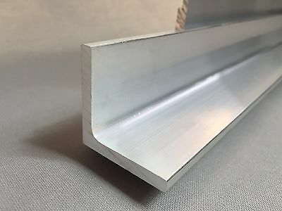 Aluminium Angle Extrusion equal/unequal sizes many lengths 2 M - 5 M LONG ! VAT