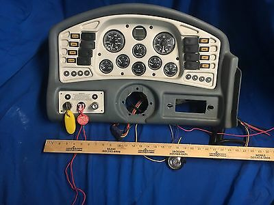 Crownline 225 Gauge Cluster Boat Gauges 52 HOURS!