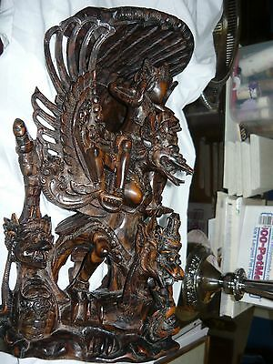Garuda Bird Wood Carving
