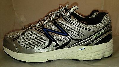 Mens New Balance M840SB2 Running Shoes Size: 12 (EE) Color: Gray Black Blue