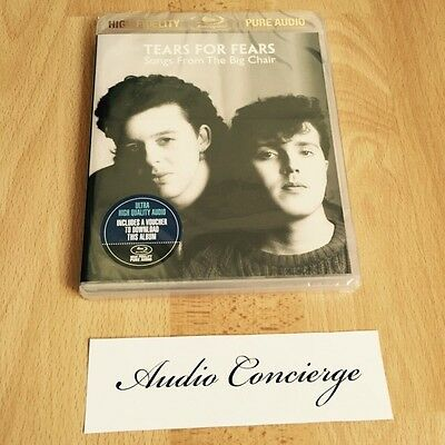 Tears for Fears Songs from the Big Chair 5.1 Blu-Ray Audio (no DVD-Audio or SACD