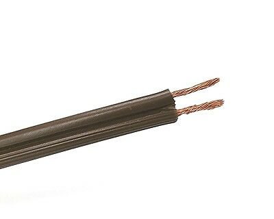 25' SPT-2 18/2 BROWN Lamp Cord, 18 Gauge 10 Amp 300V AC 105°C Rated 18AWG