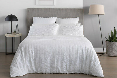 NEW Sheridan Abelia Quilt Cover Set - White