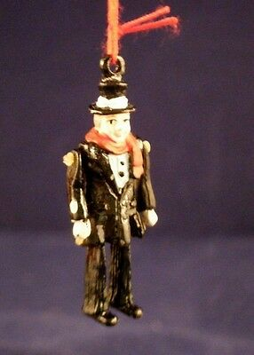 "NOS  D56 ""Tiny Trimmings"" Pewter Ornaments Bob Cratchit"