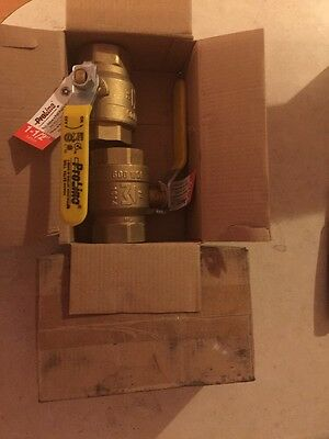 "Proline Brass Ball Valve---1-1/2"" Lot of 4"