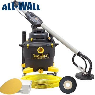 Porter Cable 7800 Professional Drywall Sanding System w/Dustless Vacuum & Discs