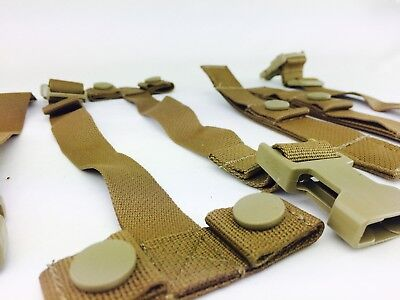 Usmc Eagle Military Assault Pack Strap Kit Coyote Brown Vest Carrier Ilbe Buckle
