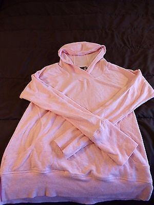Zella Women's Size X Small Pink Pullover Hoodie