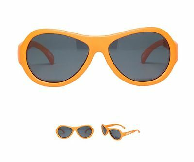 BABIATORS Sunglasses for Baby Toddler Age 0-3 Brand New Orange in Box