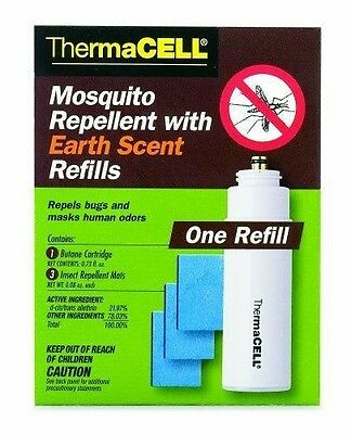 Fountain Thermacell Mics Mosquito Repellent With Earth Scent Refill E1