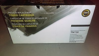 Brother Toner Cartridge TN-720 BLACK /NEW/FREE SHIPPING/UNOPENED/UNUSED IN BOX