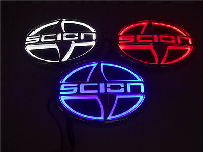 Waterproof 5D LED Car Logo Light Auto Badge Rear Emblems Running Lamp For SCION