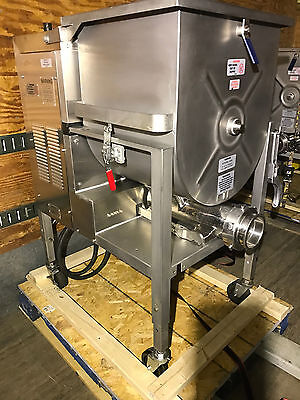 2013 Hollymatic GMG180A #52 Stainless Meat Mixer Grinder 10hp (NEW STYLE)