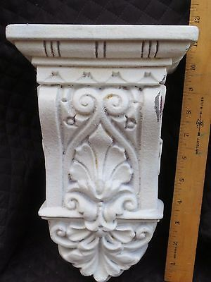 Resin Unfinished Corbel Finial Decorative Hardware French Inspired