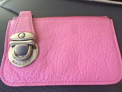 Pink New Women's Change Purse Credit Card Business Card Holder