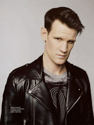 "023 MATT SMITH - Doctor Who UK Actor 14""x18"" Poster"