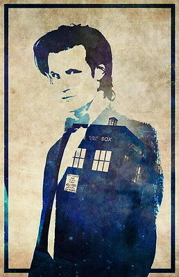 "020 MATT SMITH - Doctor Who UK Actor 14""x21"" Poster"