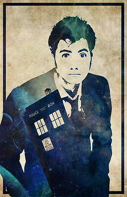 "037 DAVID TENNANT - Doctor Who UK Actor 14""x21"" Poster"
