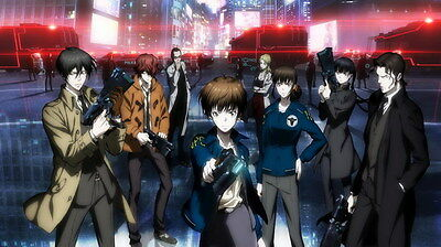 "106 PSYCHO PASS - Kougami Shinya Police Season 2 Fight Anime 24""x14"" Poster"