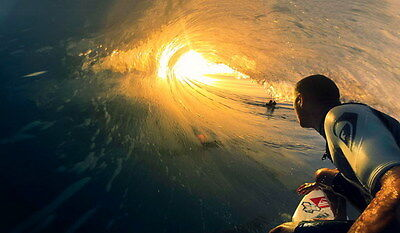 "018 GIANT WAVE - Sea Surfing 41""x24"" Poster"