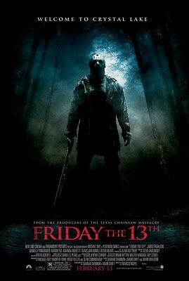 "005 Friday The 13th - USA Classic Horror Thriller Movie 24""x35"" Poster"