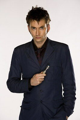 "001 DAVID TENNANT - Doctor Who UK Actor 24""x36"" Poster"